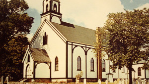 The original church building